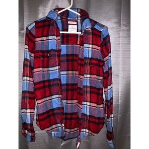 American Eagle cozy flannel